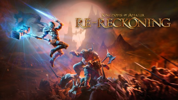 Kingdoms of Amalur: Re-Reckoning official artwork and logo