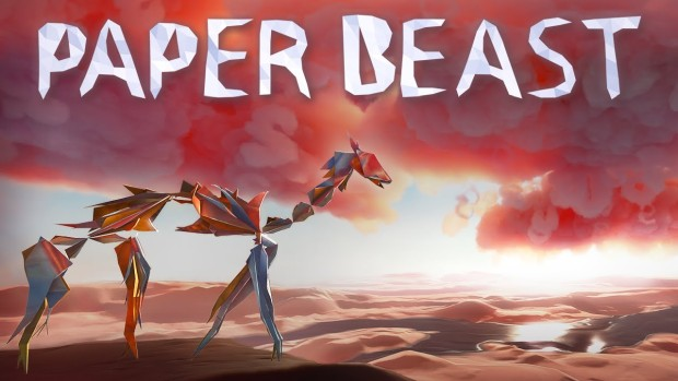Paper Beast official artwork and logo