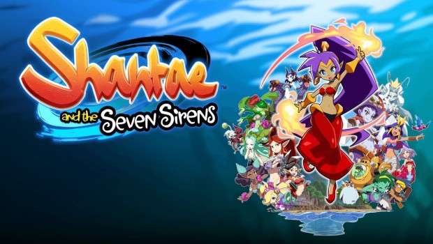 Shantae and the Seven Sirens official artwork and logo