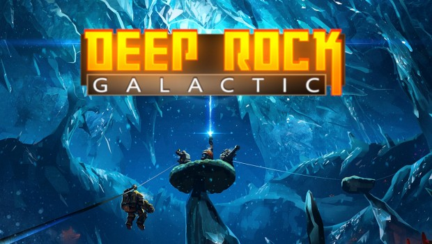 Deep Rock Galactic artwork with logo