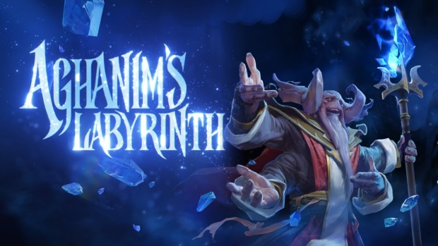 Dota 2 artwork for the new Aghanim's Labyrinth mode