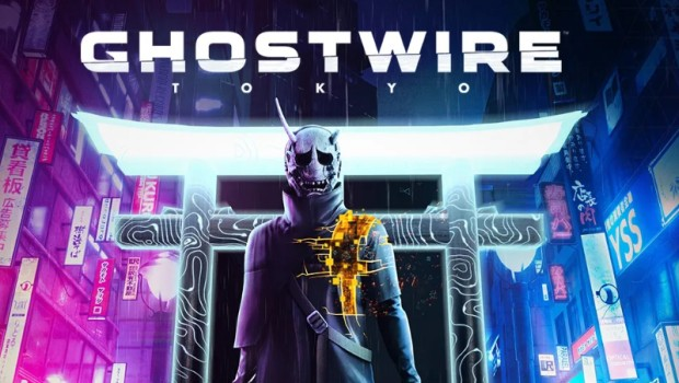 Ghostwire: Tokyo official artwork and logo