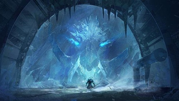 Guild Wars 2's The Icebrood Saga - Jormag Rising official artwork
