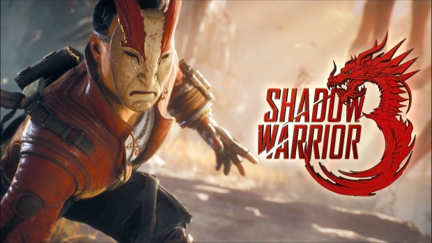 Shadow Warrior 3 official artwork with logo