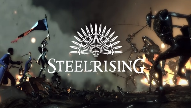 Steelrising official artwork and logo