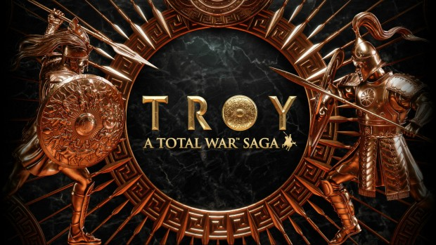 Total War: Troy official artwork and logo