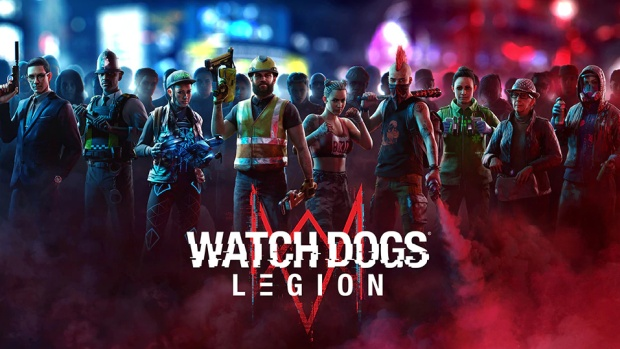 Watch Dogs Legion official artwork and logo