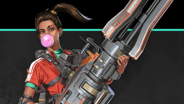 Apex Legends artwork showing off Rampart