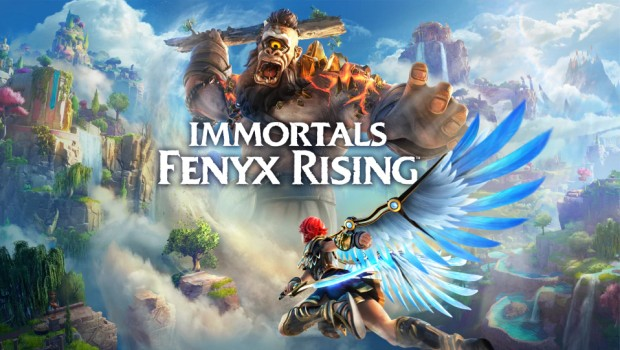 Immortals Fenyx Rising official artwork with logo