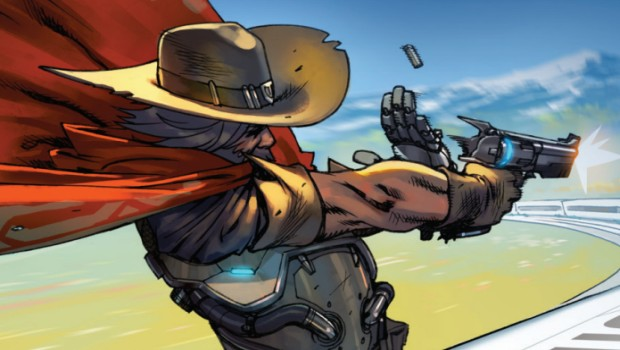 Overwatch artwork for McCree