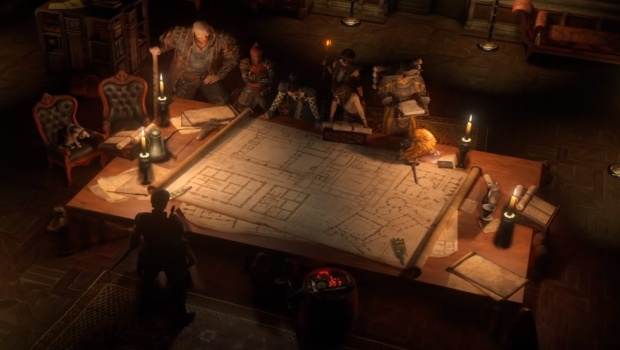 Path of Exile screenshot of the planning table from the Heist update