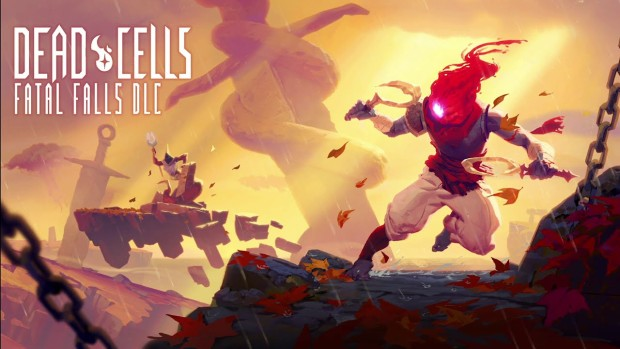 Dead Cells official artwork from the Fatal Falls DLC