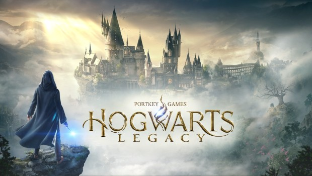 Hogwarts Legacy official artwork and logo