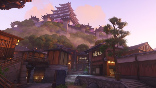 Overwatch screenshot of Kanezaka and Hanamura