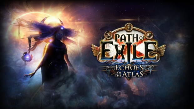 Path of Exile: Echoes of Atlas official artwork and logo