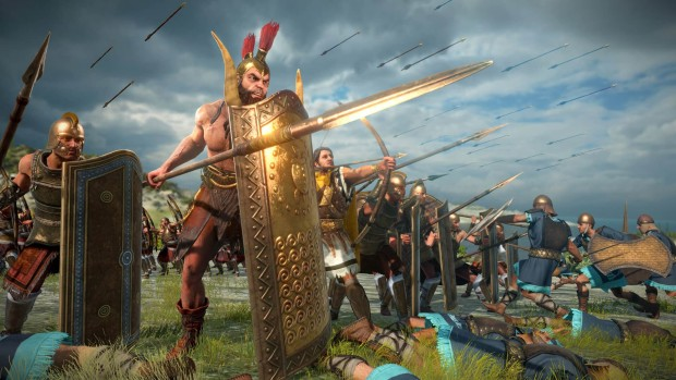 Total War: Troy in-game screenshot from the Ajax & Diomedes DLC